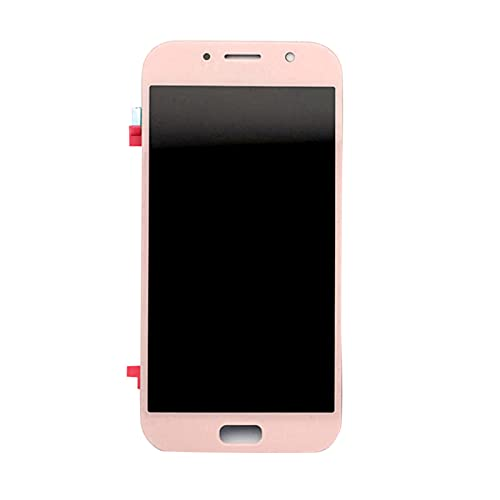 Auleset Pantalla LCD táctil digitalizador para Samsung Galaxy A7 2017 A720 A720F A720M - Rosa