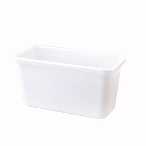 Botes de basura Cocina de pared Bote de basura Hogar Sala de estar Dormitorio Cocina Muebles de plástico Caja de almacenamiento (4...
