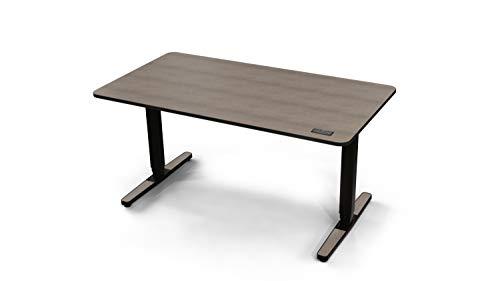 Yaasa Desk Pro II, elektrisch höhenverstellbarer Schreibtisch, Sitz-Steh Bürotisch mit Memory-Funktion, Tastensperre, Anti-Kollisions-Sensor, leiser und schneller Höhenverstellung, Eiche, 140x75cm