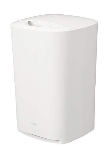 シービージャパン フローリングワイパー 掃除機 据え置き型 紙パック式 フローリングクリーナー mlte ホワイト