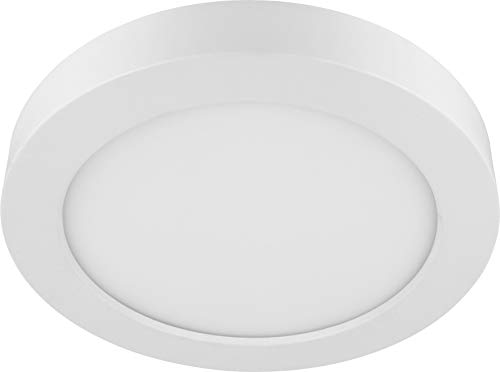 LED 6in1 CCT Slim Panel Downlight - 24W 2200lm IP44 eckig - 3000K 4000K 6000K - Trafo integriert - 247x35mm flach