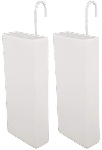 Luftbefeuchter für Heizung Set inkl. Haken - Keramik Wasserverdunster - beige matt - Wasserverdunster verdampfer verdunster Heizkörper - Neutral - 2 Stück