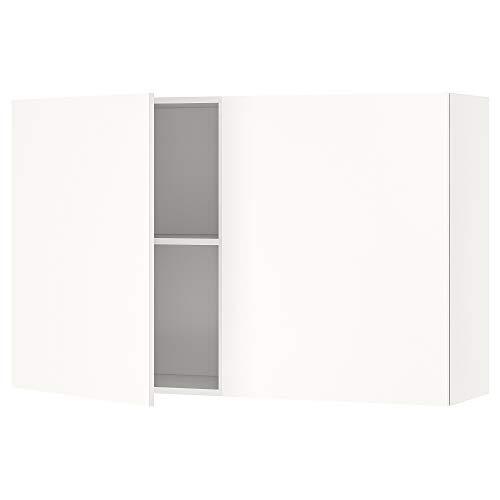 KNOXHULT armario de pared con puertas 120x31x75 cm blanco