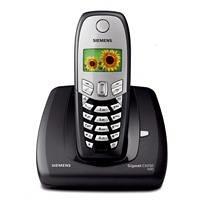 Siemens Gigaset CX450 schnurloses ISDN Telefon schwarz
