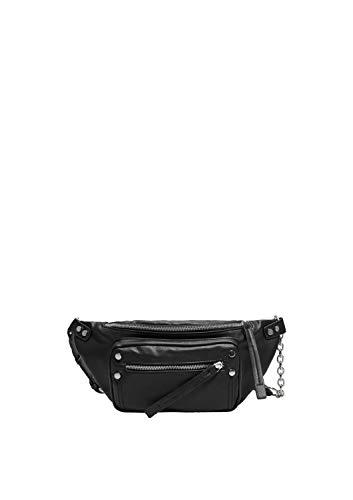 s.Oliver (Bags Damen 39.907.90.5139 Schultertasche, Schwarz (Black), 5x15x36 cm