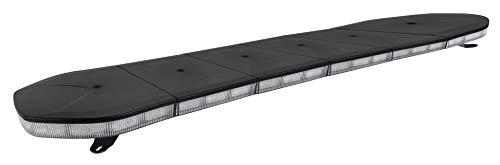 Puente de Iluminación LED HOMOLOGADO R65 Ámbar 1.400 mm. Emergencia Homologado Advertencia 10-30 V - 88W - 8 Funciones Barra Luz Emergencia Techo Vehículo