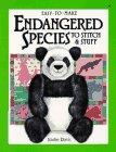 Easy-To-Make Endangered Species to Stitch & Stuff (Easy-To-Make) 0913589608 Book Cover