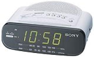Sony ICF-C212 FM/AM Clock Radio with Full Power Back-up (White)