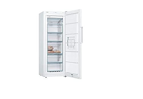 Bosch GSN29UWEV - congelador vertical poslibre serie 4, 200L, 5 cajones de congelación, 161 x 60 cm, color blanco