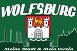 Wolfsburg Meine Stadt - Mein Verein Fussball Fahne Flagge Grösse 1,50x0,90m