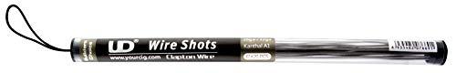 Youde UD Wire Shots Clapton Kanthal A1 26ga + 32ga Draht zum Selbstwickeln von Coils, 20 Stück