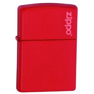 Zippo Red Matte Logo