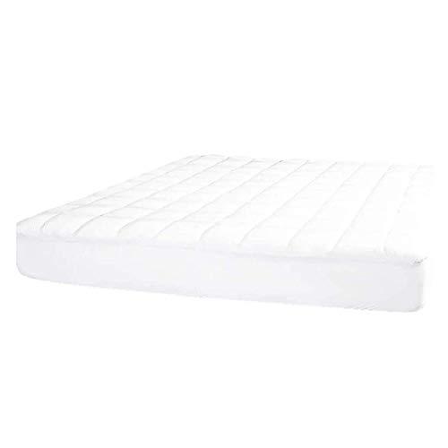 Tradista Protector de colchón de microfibra, transpirable, regula el calor, 140 cm x 200 cm