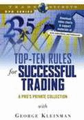 Top-ten Rules for Successful Trading with George Kleinman