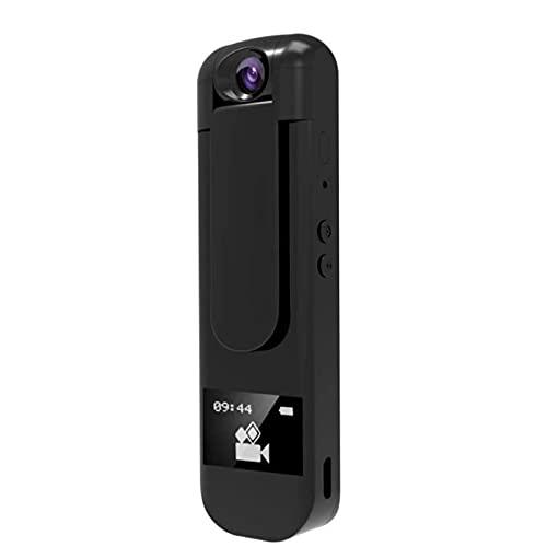 1080p Spy Mini Pen-kamera, bärbar röstinspelare, 180 graders roterande kamera MP3-spelare med hörlurar Röstinspelare kan användas för konferens/möte/intervju