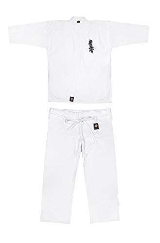 IKKEN Kyokushin Karate Gi | Todos los Tamaños (160cm, 10oz - Adultos)