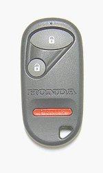 Honda 3 Button Keyless Entry Remote (FCC ID: NHVWB1U521 or NHVWB1U523 - INTERCHANGEABLE) Key Fob Clicker 2003 Civic EX HYBRID