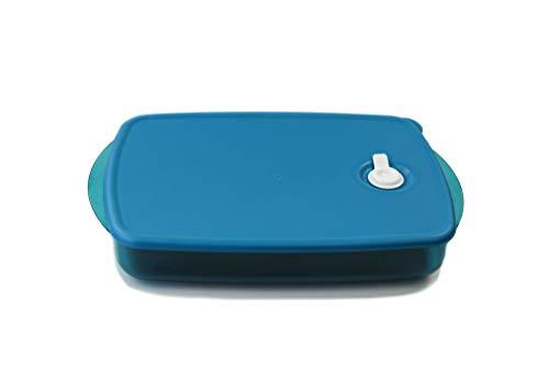 TUPPERWARE Microonde Micro Cook Vent N Serve Contenitore per microonde con valvola 1.4L turchese 38329