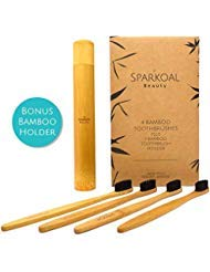 Bamboo Toothbrush with Bonus Bamboo Holder