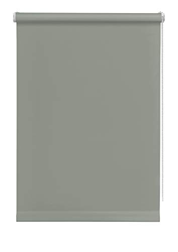 Deco Company Rollo Mini Estor Enrollable, Poliéster, Gris, 45 x 150 cm