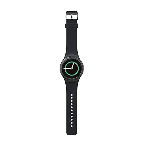XXY Silicone Smart Watch Band Correas De Colores Sólidas para Samsung Gear S2 SM-R720 SM-R730 Pulsera Deportiva Correa Adulto (Color : 1)