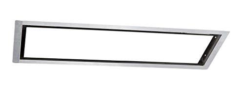 Einbaurahmen für Burda Relax Glass Heizstrahler, [Gehäusefarbe]:Größe L - Farbe Silber