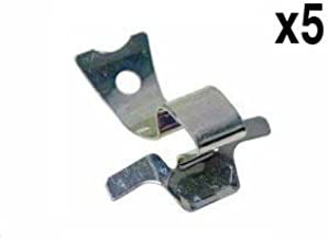 Mercedes (1965-85) Hub Cap Clip retainers (x5) OEM clips Brand NEW fastener w123