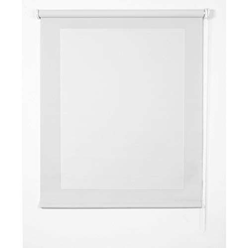 STOR PLANET Estores Collection Estor Screen Blanco 80 x 180 cm
