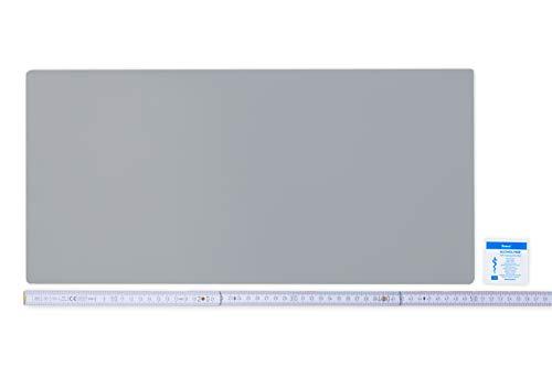 Flickly Anhänger Planen Reparatur Pflaster | in vielen Farben erhältlich | 50cm x 24cm | SELBSTKLEBEND (Silber)