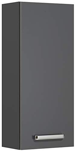 mobiletto bagno nero lucido Pelipal 311 Mainz Armadietto da Parete