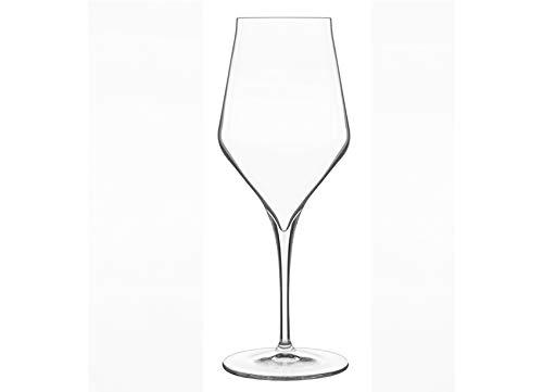 Luigi Bormioli 7540459SUPREMO Calici da Vino in Cristallo Trasparente, 8.8cm x 8.8cm x 23.3cm, Confezione da 6Pezzi