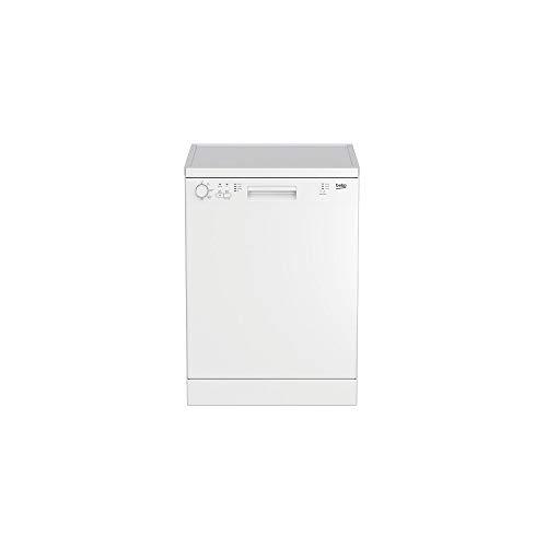 Beko DFN113 lavavajilla Independiente 13 cubiertos A+ - Lavavajillas (Independiente, Blanco, Botones, Giratorio, Acero inoxidable, 13 cubiertos, 48 dB)