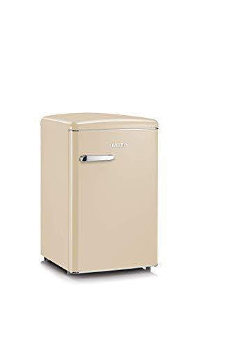Severin RKS8833, Frigorifero - Congelatore 106 Litri, Design Retrò, Colore Crema