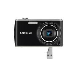 Samsung PL PL90 Kompaktkamera 12,4 MP 1/2.3 Zoll CCD 4000 x 3000 Pixel Schwarz, Grau - Digitalkameras (12,4 MP, 4000 x 3000 Pixel, 1/2.3 Zoll, CCD, 4X, Schwarz, Grau)
