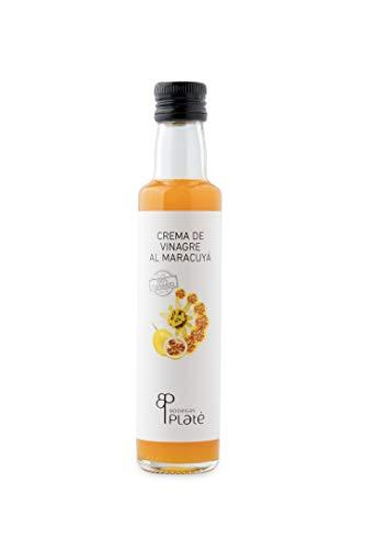 Passionsfrucht Essig-Cremes PLATÉ 25 cl. Kanarische Produkte