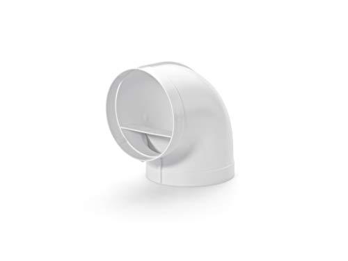 Naber R-RBV flow 150 Rohrbogen 90°, weiß