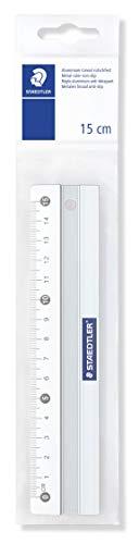 Staedtler 563 15 Lineal Metall, 15cm