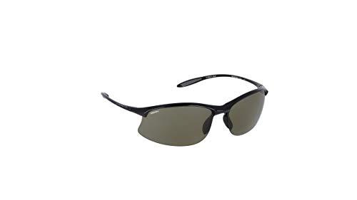 SERENGETI Maestrale Gafas, Unisex Adulto, Shiny Black, M/L