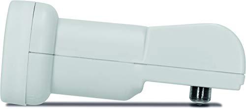 TechniSat Universal Twin-LNB mit 40 mm Feedaufnahme (digital LNC für 2 Teilnehmer oder einen Twin-Receiver, Wetterschutz, UHD, 4K, HD)