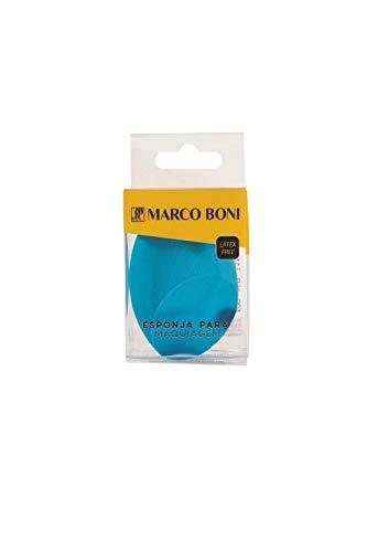 Esponja para Maquiagem Chanfrada Latex Free, 8478, Marco Boni, Azul, 1 Unidade