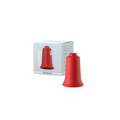 Ventouse BellaBambi MINI, traitement des fascias. Fabriquée en Allemagne - en silicone médical, BellaBambi Ventouse Solo, 1 pièce - INTENSE - Rouge (forte intensité) Diamètre: 2,0 cm, Hauteur: 5,0 cm