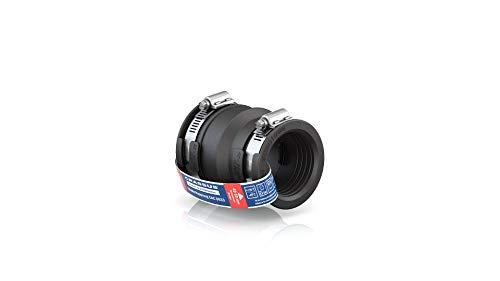 Crassus Adapterkupplung CAC 0633, EPDM / V2A, 1 Stück, 53-63 mm auf 40-50 mm, CRA12047