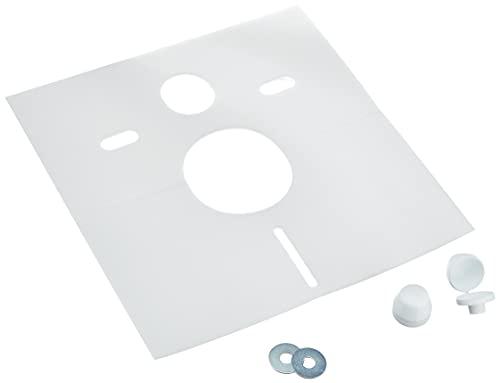 Sanit 16.002.00.0000 Schallschutzset für Wand-WC und Bidet, weiß