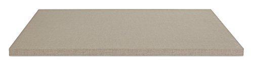 Einlegeboden Regalboden Fachbrett | Hellgrau | 88x45 cm