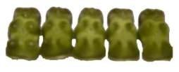 Grüne Gummibärchen von Haribo - 100g