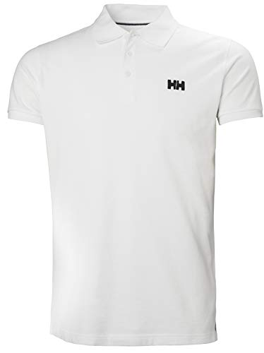 Helly Hansen Transat Polo, Hombre, Blanco (Blanco 001), L