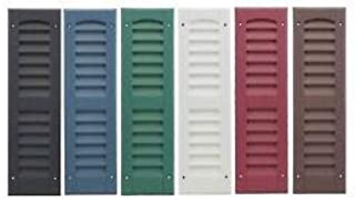 OUTDOOR PLAY AND STORAGE LOUVERED Molded SHUTTERS 6
