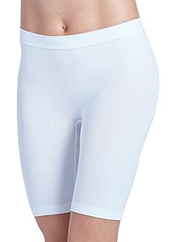 Jockey Women's Underwear Skimmies Slipshort, White, l