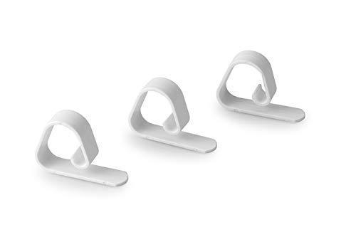 JICACLICK Pack de 50 Pinzas para Sujetar MANTELES en restaurantes, Bodas, jardín y hogar | Clips Sujeta Manteles Flexibles y Resistentes para Todo Tipo de mesas de Entre 1 y 4,5 cm de Grosor