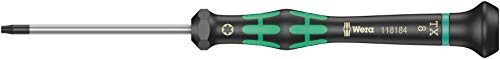 2067 Destornillador TORX HF con función de retención para usos electrónicos, TX 8 x 60 mm